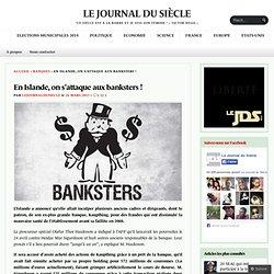 En Islande, on s'attaque aux banksters !