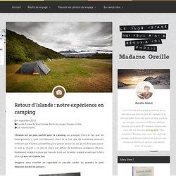 Retour d'Islande : notre expérience en camping