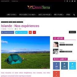 Islande : Nos expériences