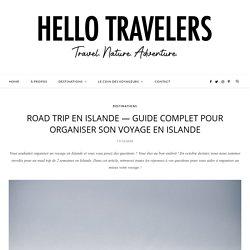 Road trip en Islande — Guide pour organiser son voyage en Islande