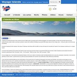 L'Islande en Hiver : Article Islande - Voyage-Islande.fr