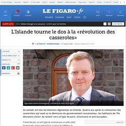 L'Islande tourne le dos à la «révolution des casseroles»