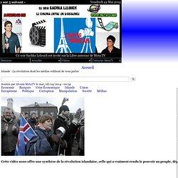 Islande : La révolution dont les médias oublient de vous parler