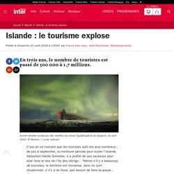 Islande: le tourisme explose