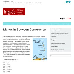 Islands in Between Conference