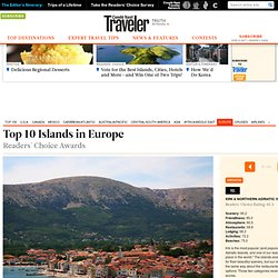 Top 10 Islands in Europe
