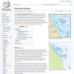 Coral Sea Islands