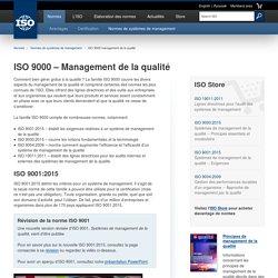 ISO 9000 management de la qualité