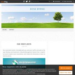 ISO 9001:2015 - Rose Byrne