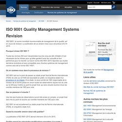 ISO 9001 Revision