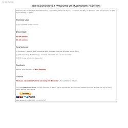 ISO Recorder v3