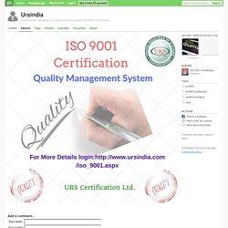 iso9001 iso9001certification iso9001standard qms - Ursindia