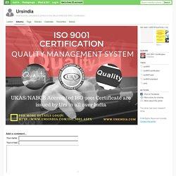 iso9001 iso9001certification iso9001qms iso9001standard qms - Ursindia