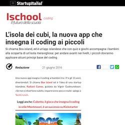 L'isola dei cubi, la nuova app che insegna il coding ai piccoli