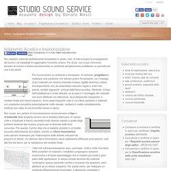 Isolamento acustico e insonorizzazione