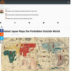 Isolated Japan Maps the Forbidden Outside World
