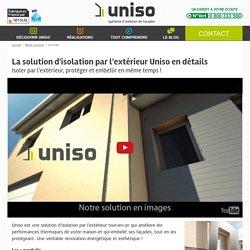 Isolation par l'extérieur : découvrez la solution Uniso en détails