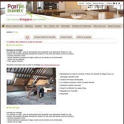 Isolation du sol : parquets flottants, parquets massifs et plafonds