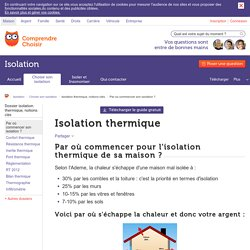 Liste isolant thermique pearltrees - Les differents isolants ...