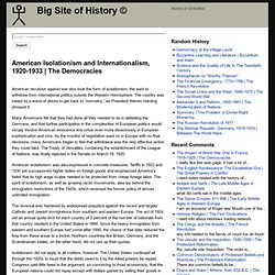 internationalism and isolationism Japan: isolationism & internationalism jean-pierre lehmann | published in history today volume 32 issue 1 january 1982 in 1970 the run-away best-seller in japan was a book entitled the japanese and the jews appearing under the nom-de-plume isaiah benda-san.
