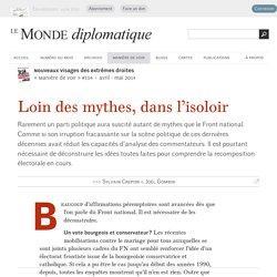 Le FN loin des mythes, dans l'isoloir, par Sylvain Crepon & Joël Gombin (Le Monde diplomatique, avril 2014)