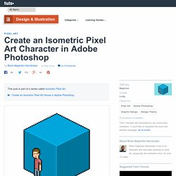 Create an Isometric Pixel Art Character in Adobe Photoshop
