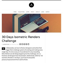 30 Days Isometric Renders Challenge