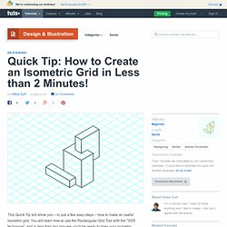 fast isometric grid how-to