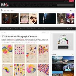 2015 Isometric Risograph Calendar