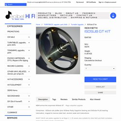 Rega ISOSub GT kit - Decibel Hi Fi