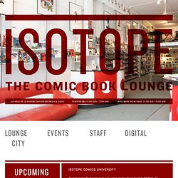 Isotope - the comic book lounge