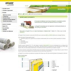 ISOVER lance la Facade F4