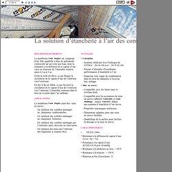 ISOVER. Pare-vapeur Vario Duplex. Fiche technique. - Page 2 sur 4.