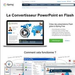Free, logiciel gratuit pour la conversion au format Flash