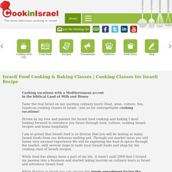 How to Learn Israeli Cooking