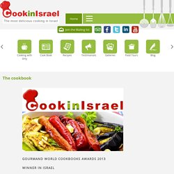 Cooking Food Tours Tel Aviv - The cookbook