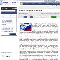 Israël: un allié discret de la Russie