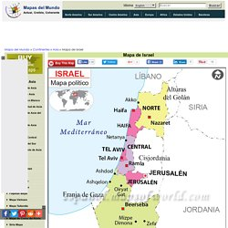 Mapa de Israel