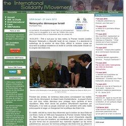 USA-Israel : Netanyahu démasque Israël - Robert Parry