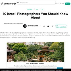 10 Israeli Photographers You Should Know About