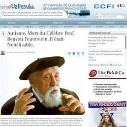 Autisme. Mort du Célèbre Prof. Reuven Feuerstein. Il était Nobélisable.