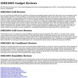 ISRE2005 Gadget Reviews