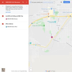 ISRE2005 Grill Reviews– Google MyMaps
