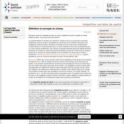 ISS: Définition et concepts du champ