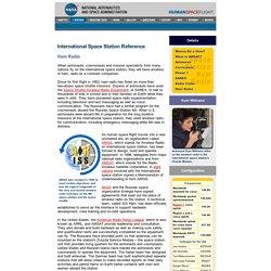 ISS Reference - Ham Radio