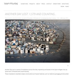 Issam Kourbaj - Another Day Lost: 1,579 and counting..