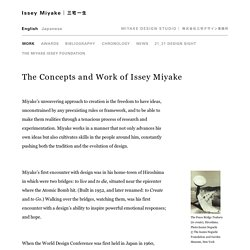 ISSEY MIYAKE Official Site