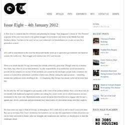 Issue Eight – 4th January 2012 | TheOccupiedTimes