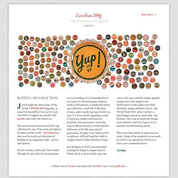Issue 1 of Less Than 100g - Bottle cap collection