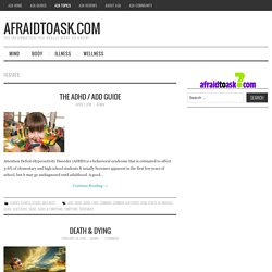 Issues – AfraidToAsk.com